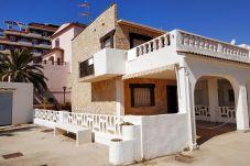 Bungalow en Peñiscola - Amplia casa en 1ª línea de playa con...